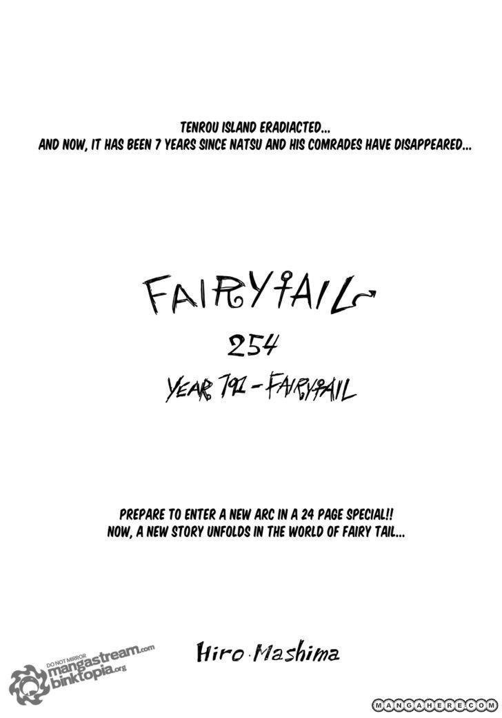 Fairy Tail 254 Page 1
