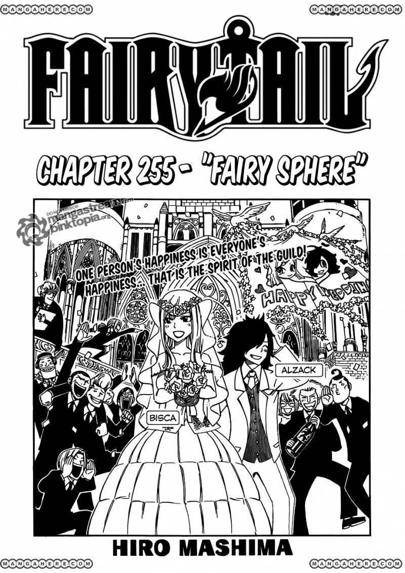 Fairy Tail 255 Page 1