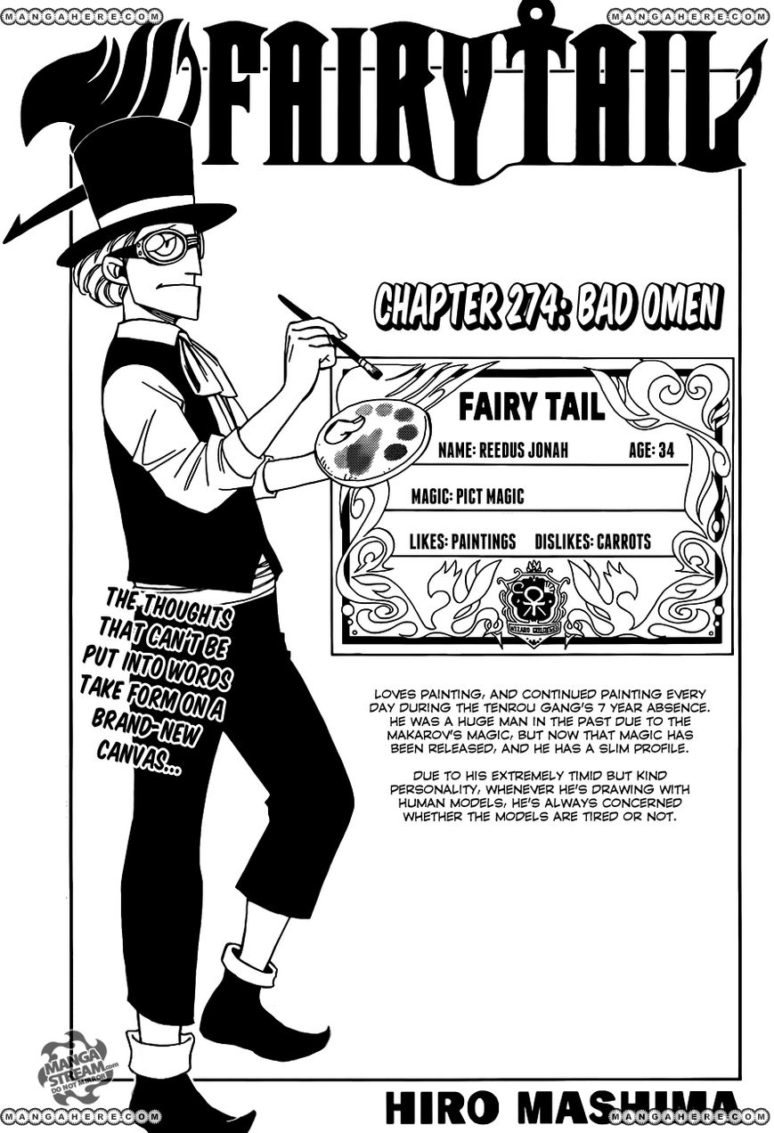 Fairy Tail 274 Page 1