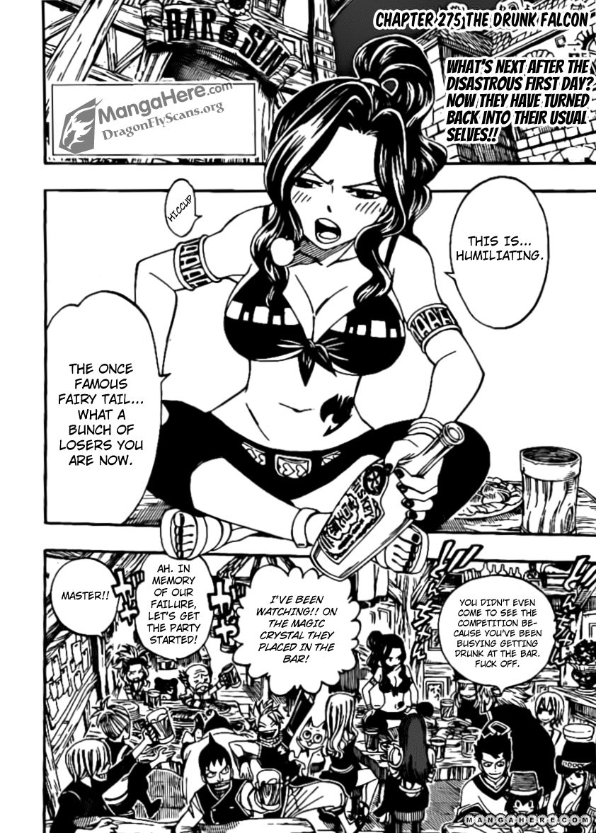 Fairy Tail 275 Page 3