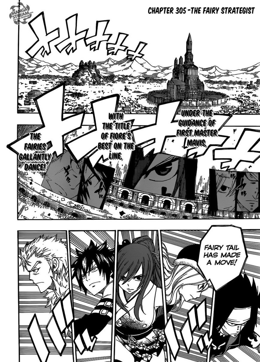 Fairy Tail 305 Page 1