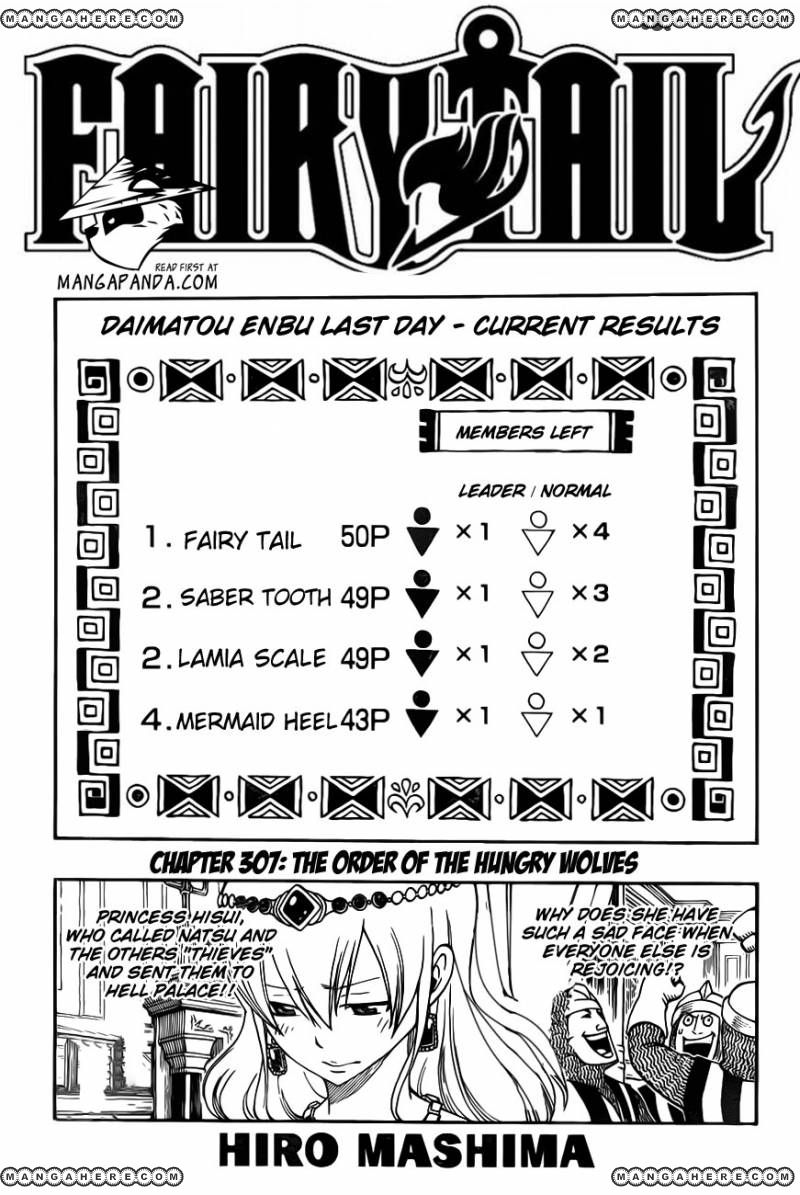 Fairy Tail 307 Page 3