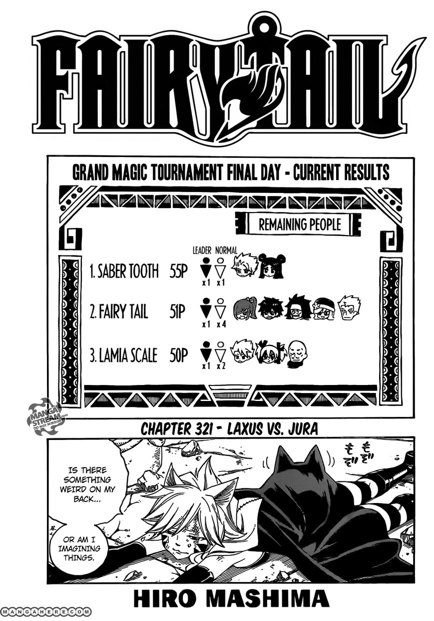 Fairy Tail 321 Page 1