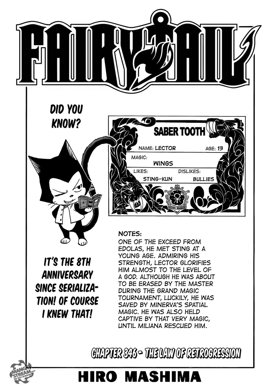 Fairy Tail 346 Page 1