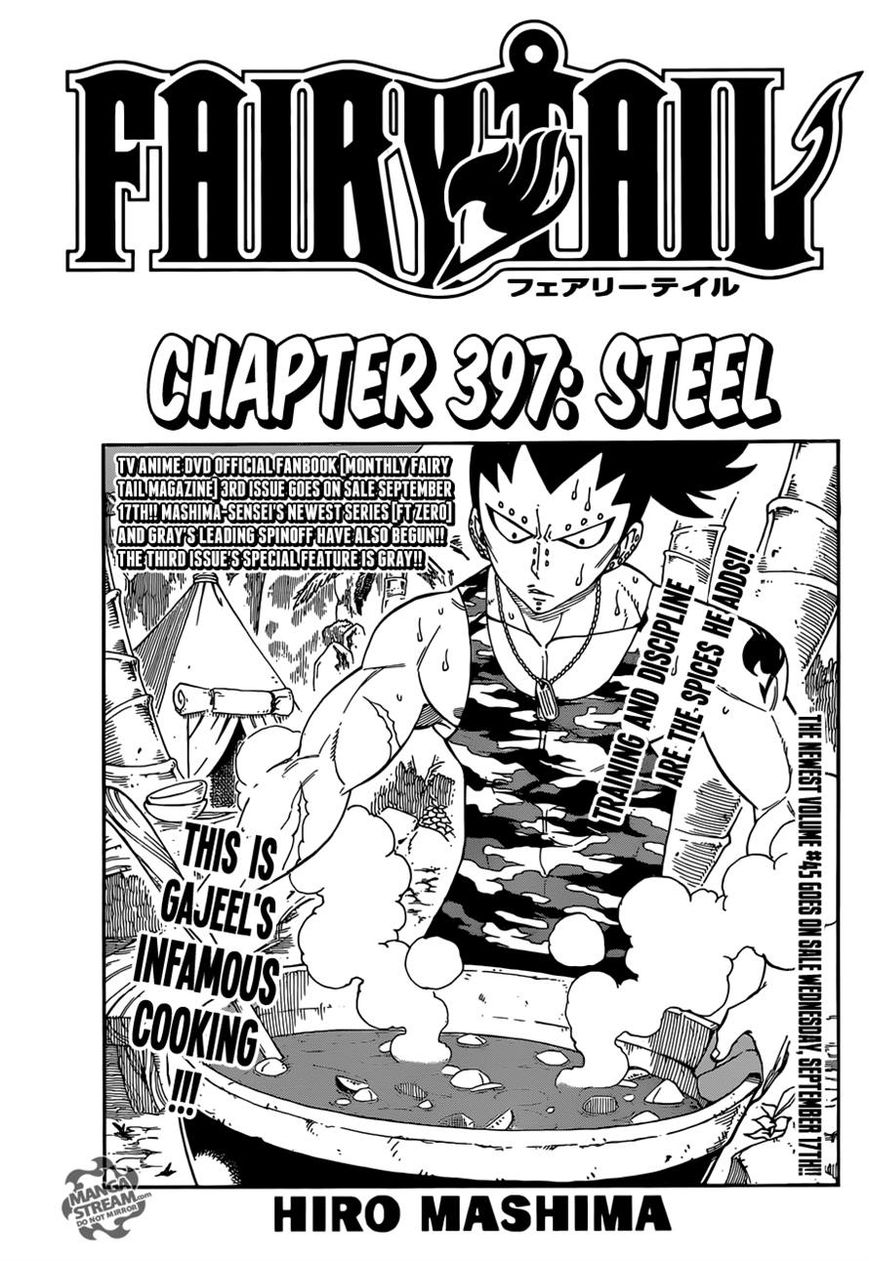 Fairy Tail 397 Page 1