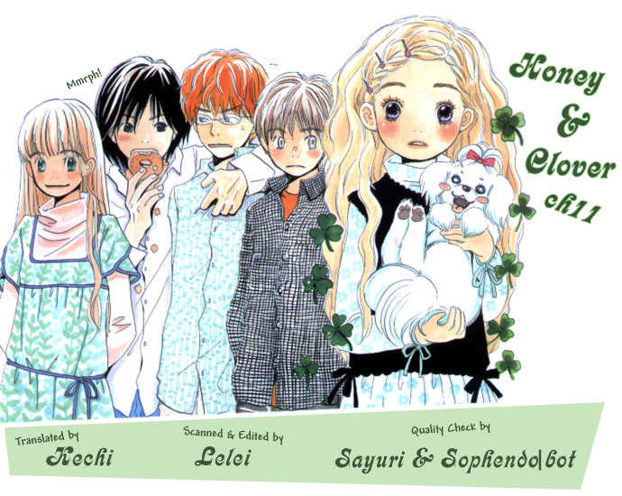 Honey and Clover 11 Page 2