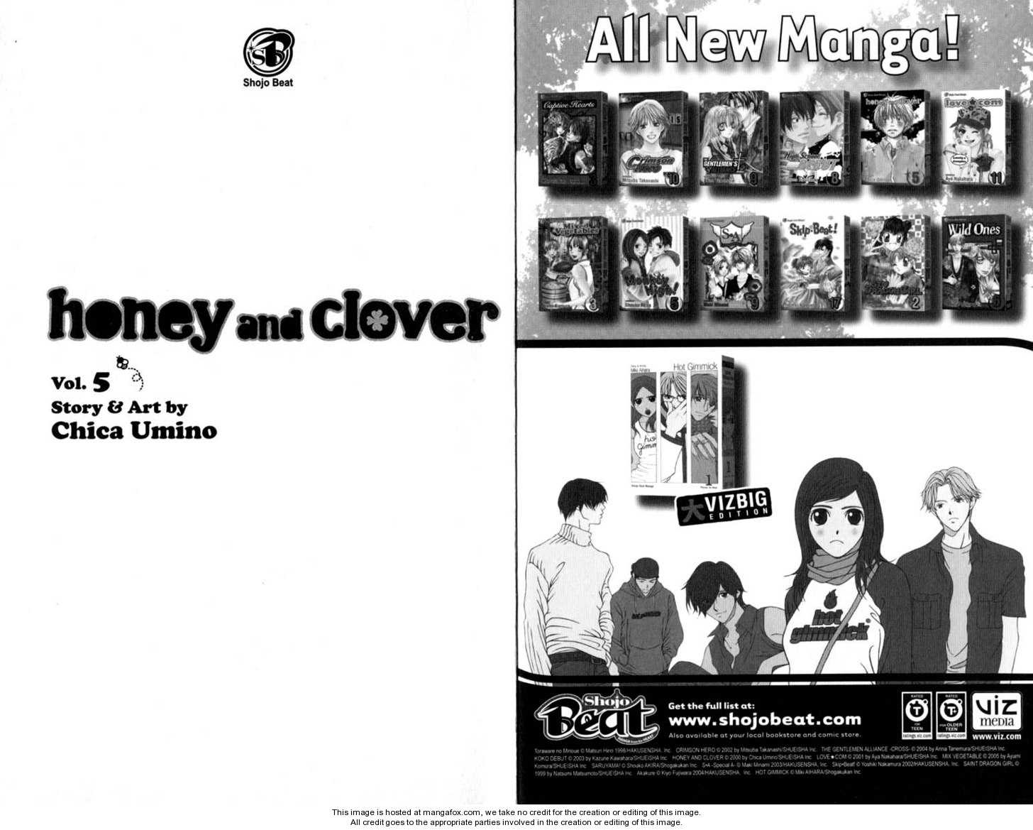 Honey and Clover 0 Page 2