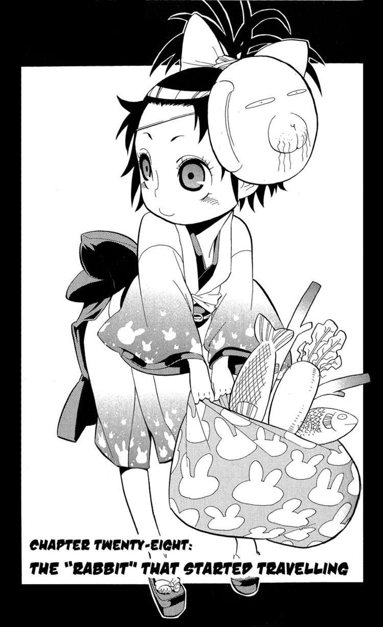 Samurai Usagi 28 Page 1