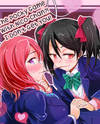 Love Live! dj - Nico-chan to Pocky Game Nante Imiwakannai!