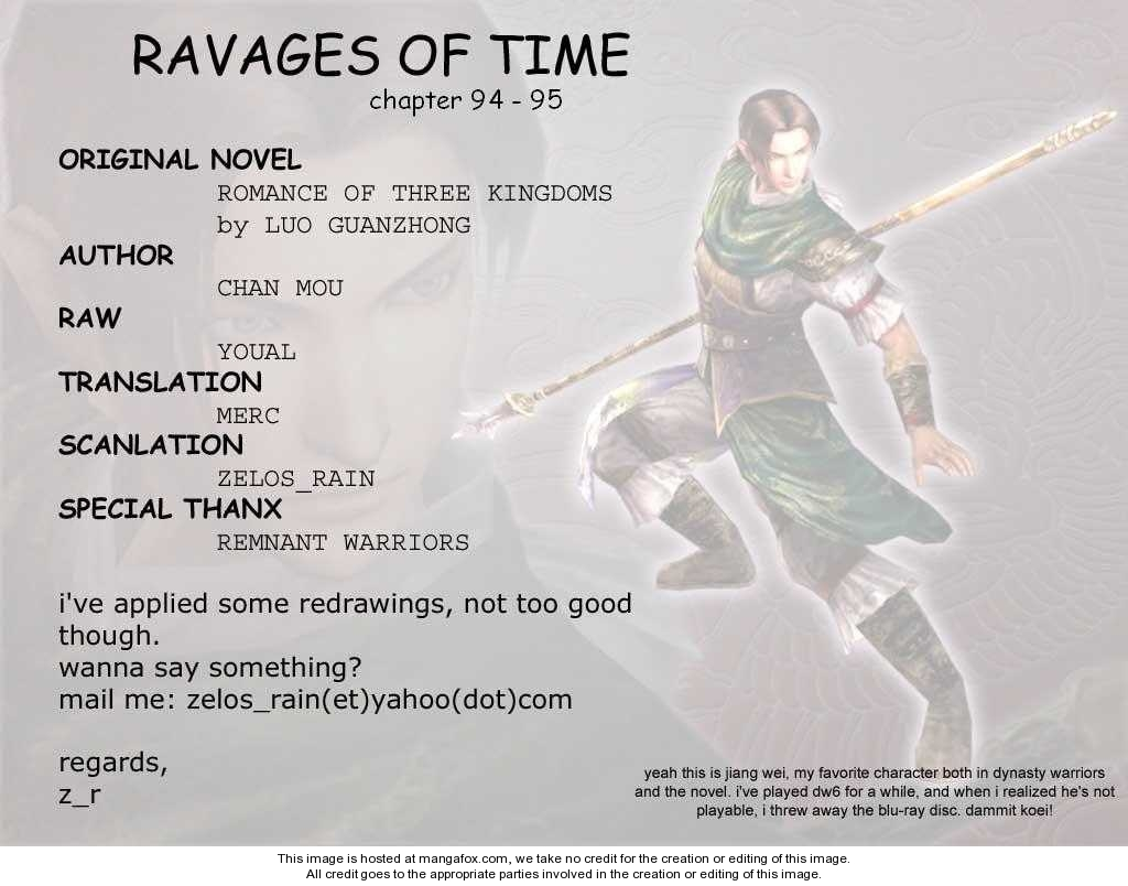 The Ravages of Time 94 Page 1
