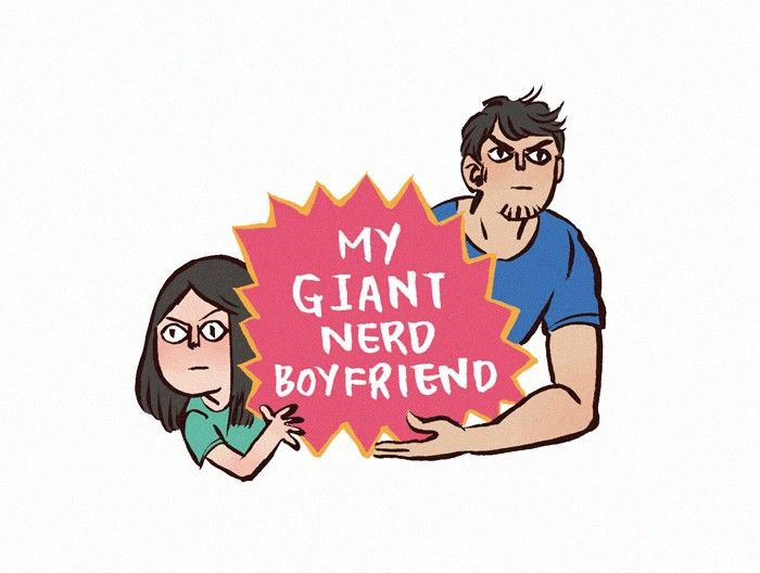 My Giant Nerd Boyfriend 55 Page 1