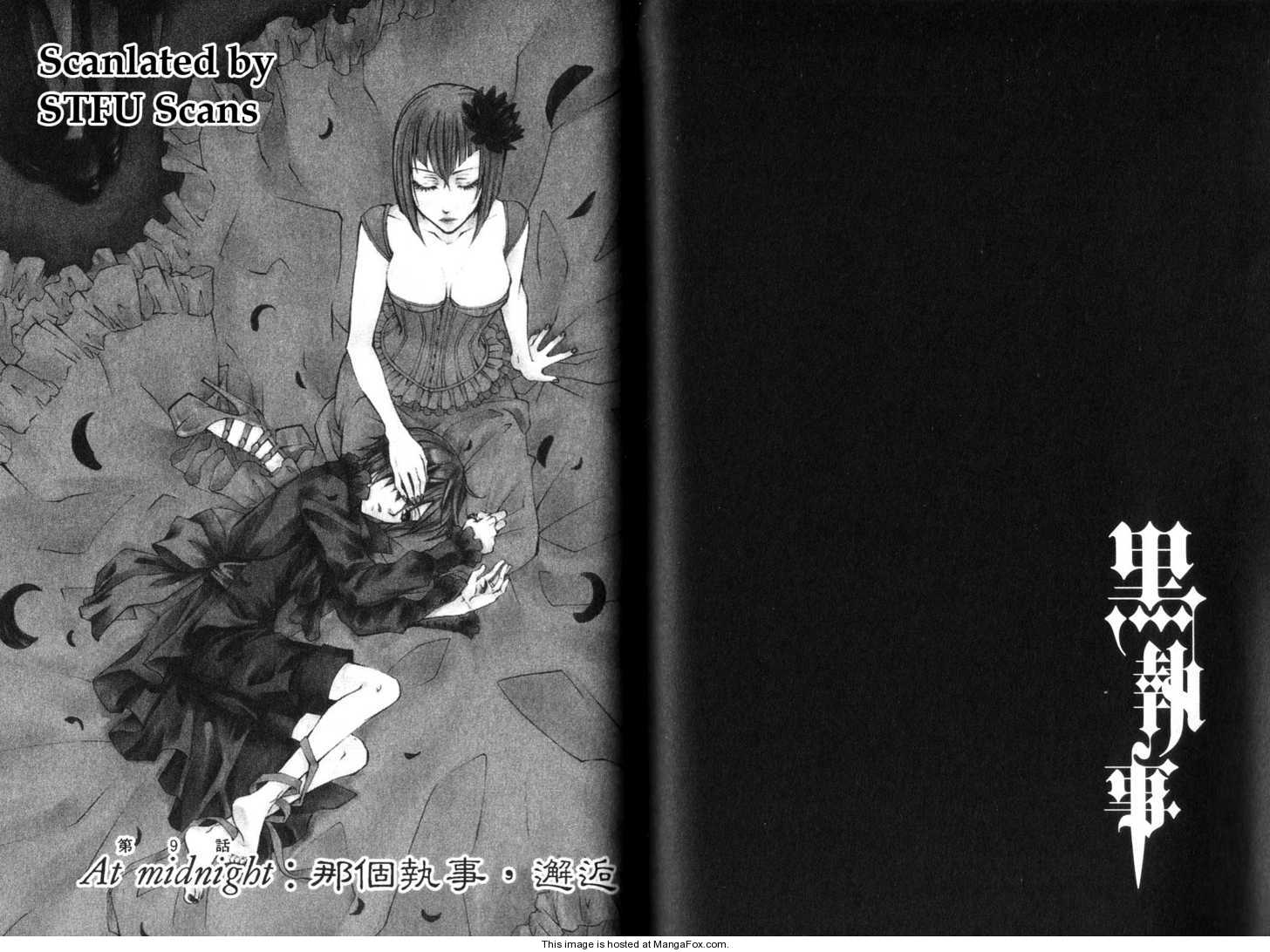 Kuroshitsuji 9 Page 1