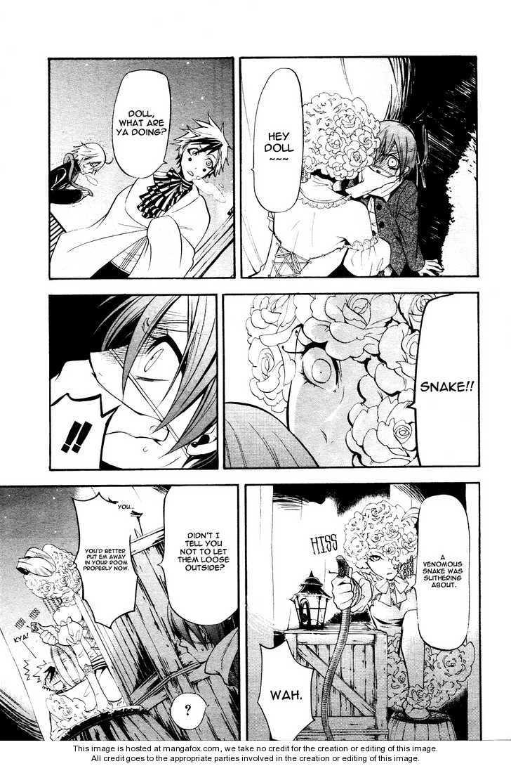 Kuroshitsuji 28 Page 4