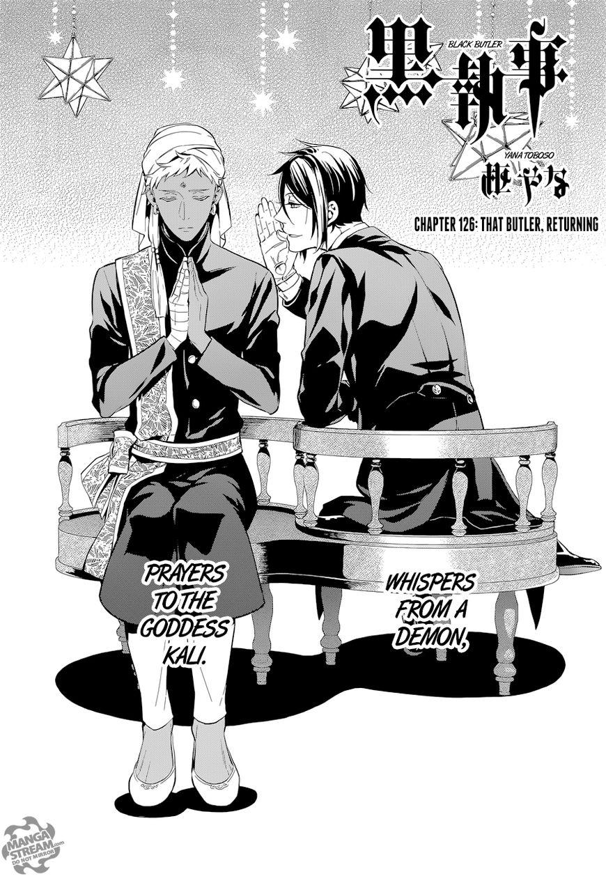 Kuroshitsuji 126 Page 2