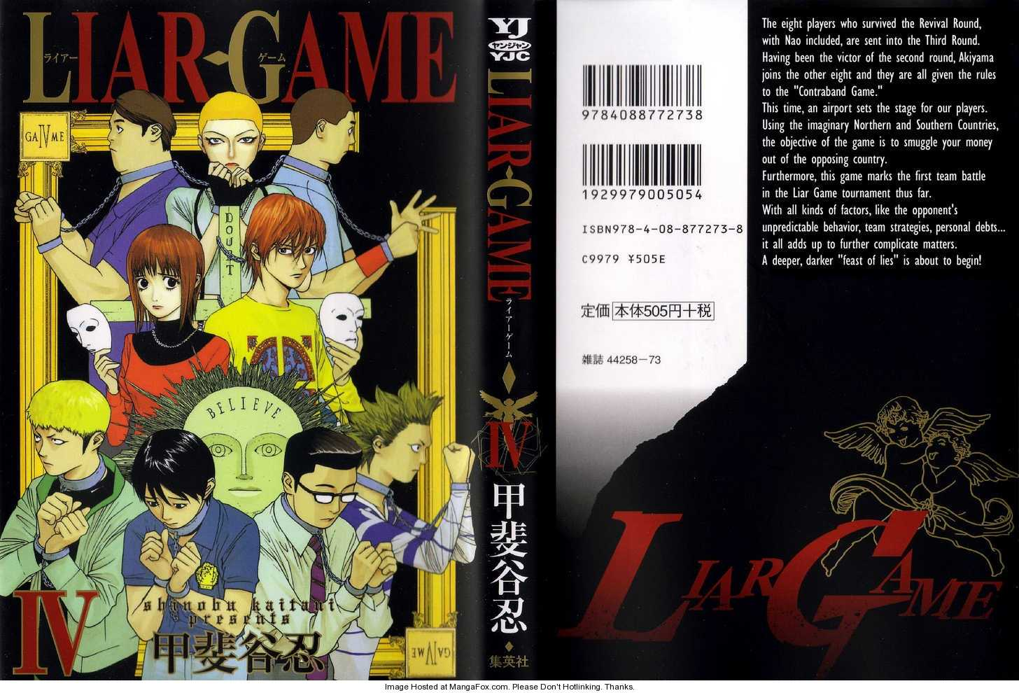 Liar Game 29 Page 1