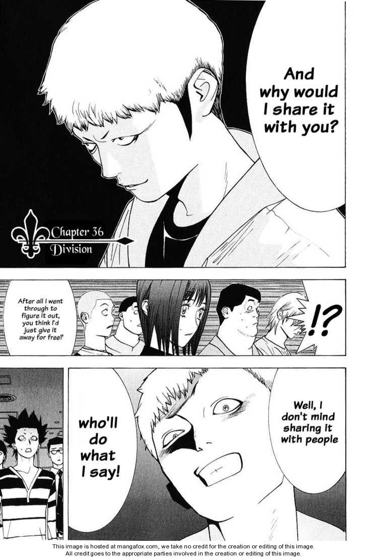 Liar Game 36 Page 1