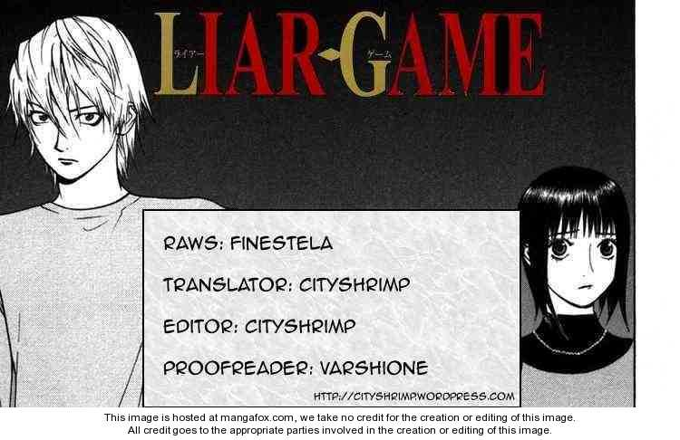 Liar Game 95 Page 1