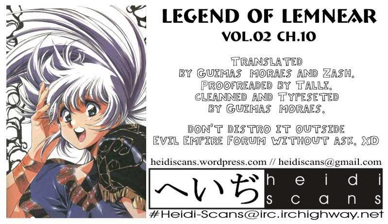 Legend of Lemnear 10 Page 1