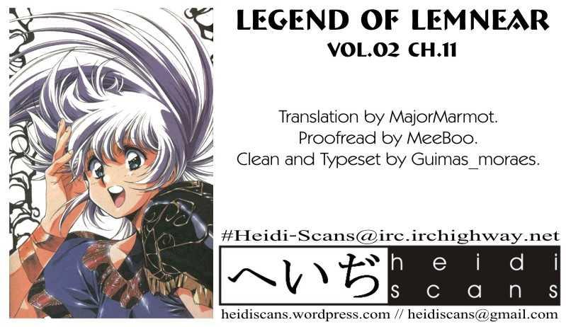 Legend of Lemnear 11 Page 1
