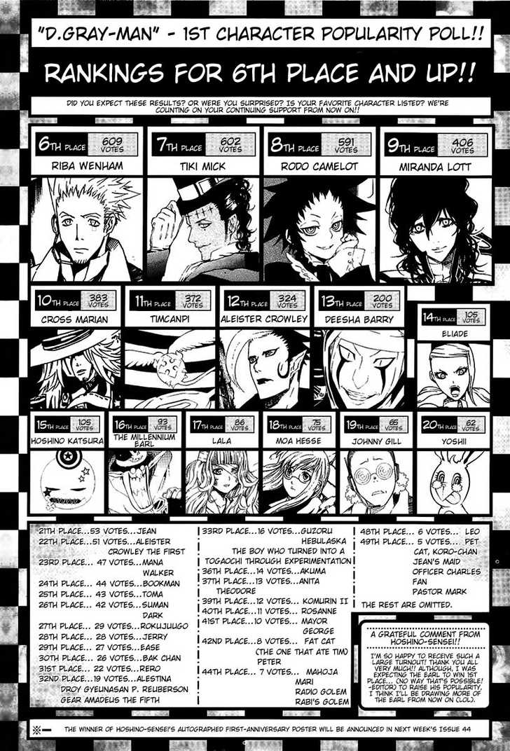 D.Gray-man 63 Page 3
