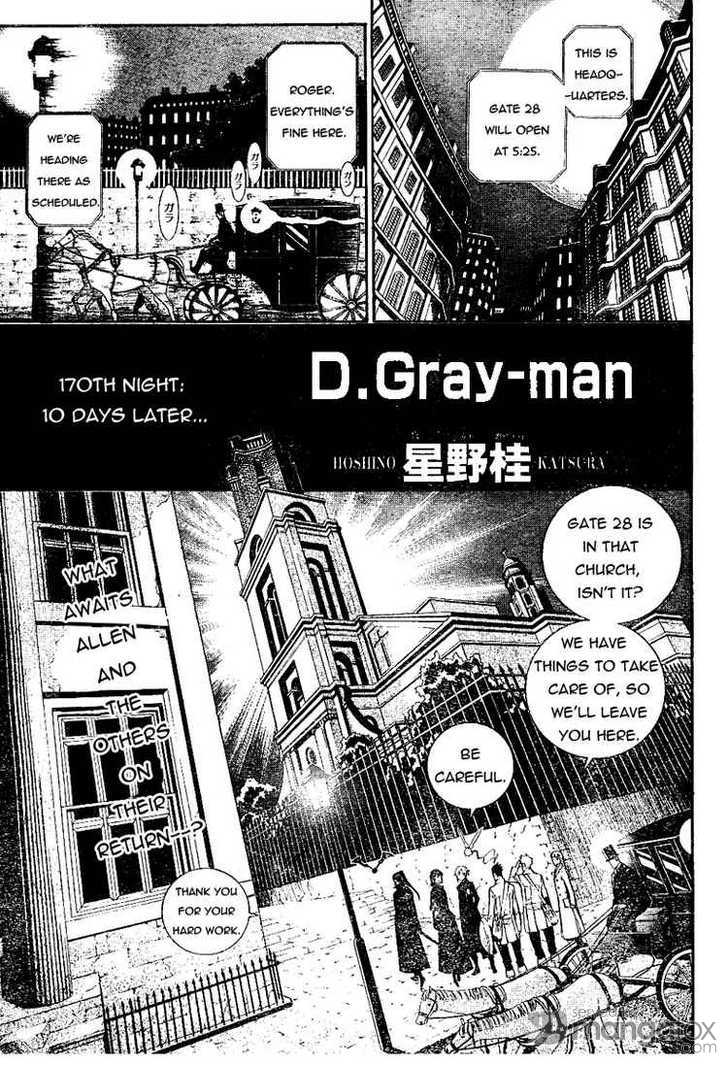 D.Gray-man 170 Page 1