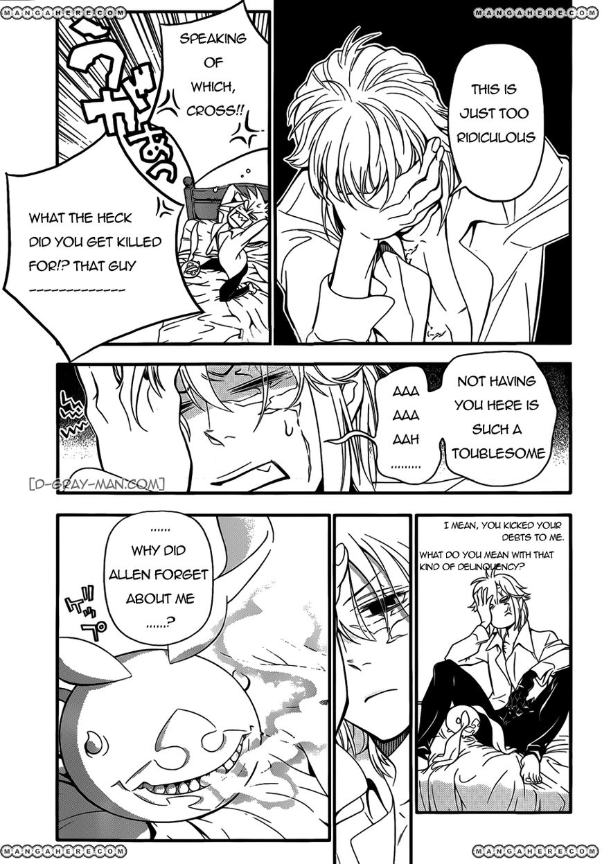 D.Gray-man 215 Page 3