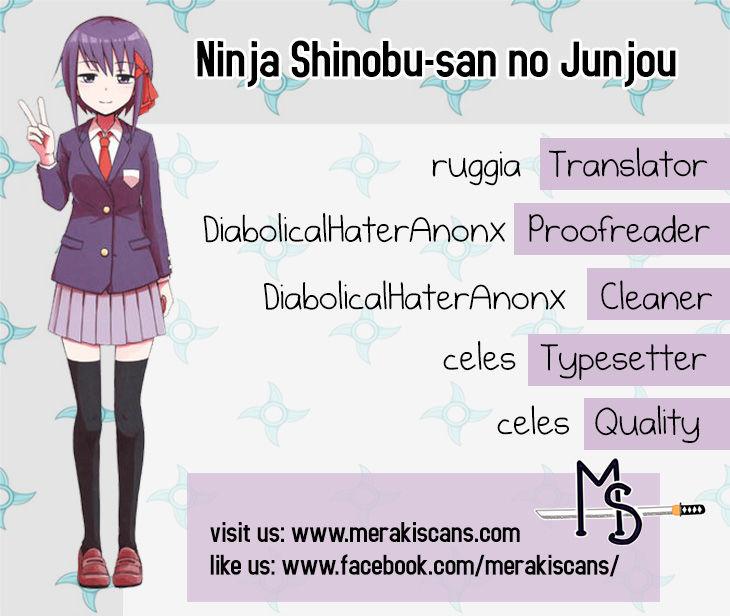 Ninja Shinobu-chan no Junjou 25 Page 1