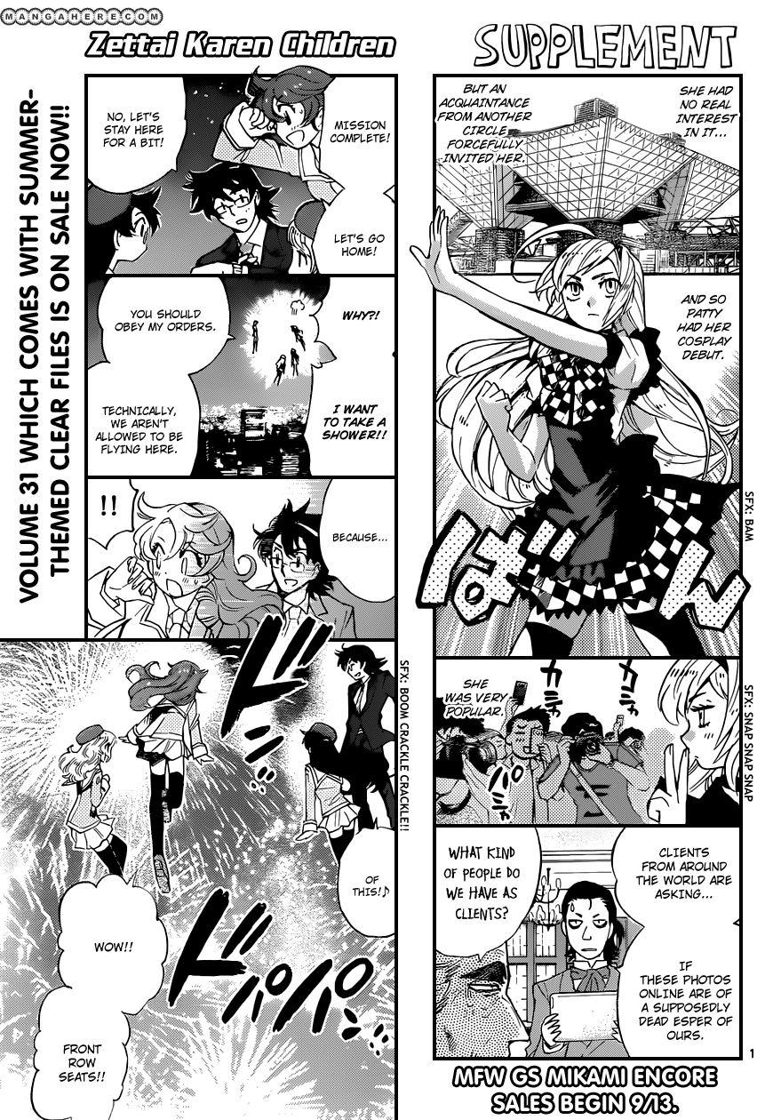 Zettai Karen Children 315 Page 1