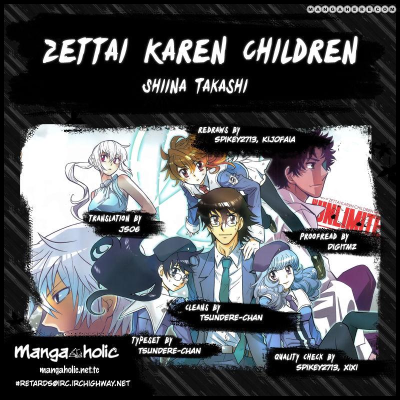 Zettai Karen Children 332 Page 1