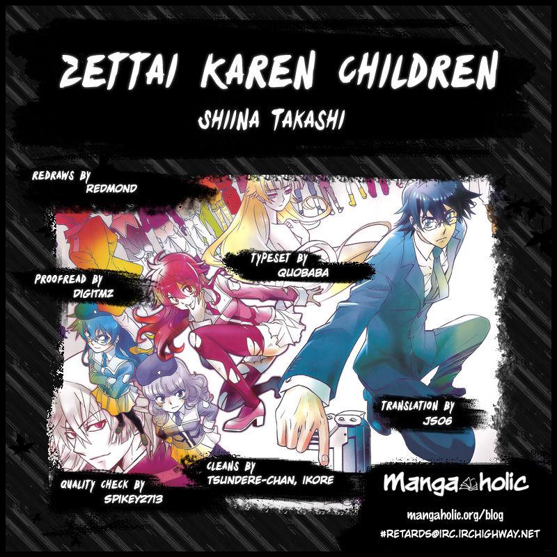 Zettai Karen Children 367 Page 2
