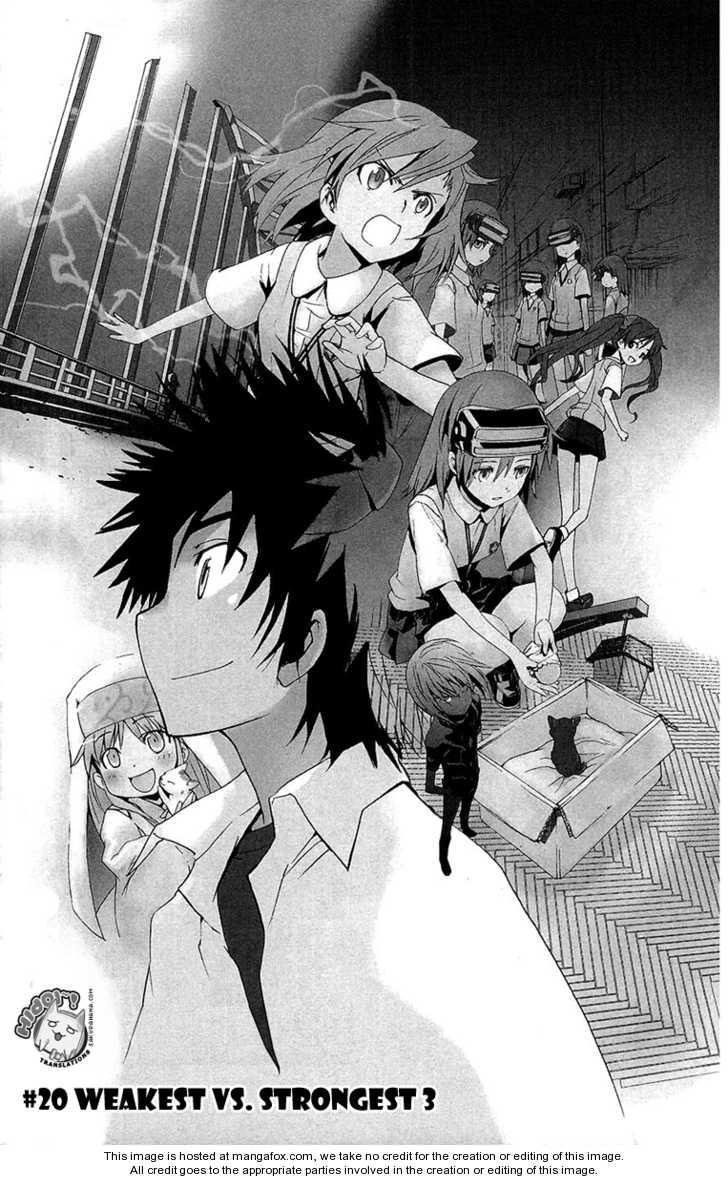 To Aru Majutsu no Index 20 Page 1