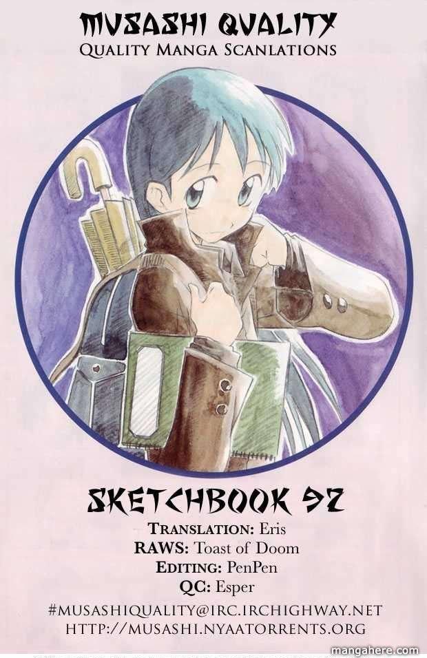 Sketchbook 92 Page 1