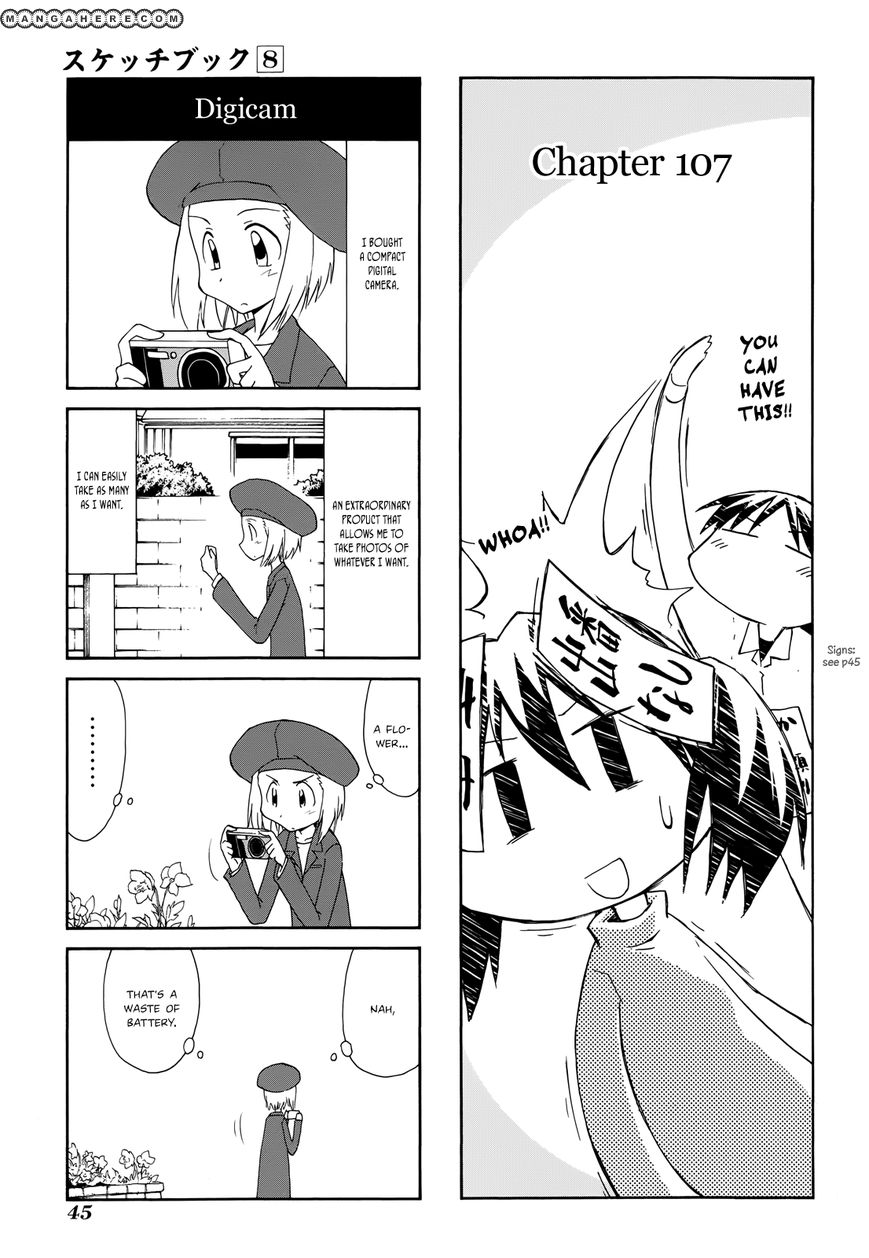 Sketchbook 107 Page 1