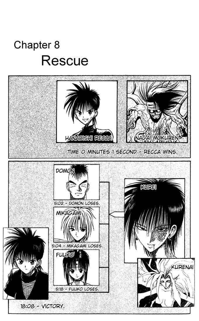 Flame of Recca 37 Page 1