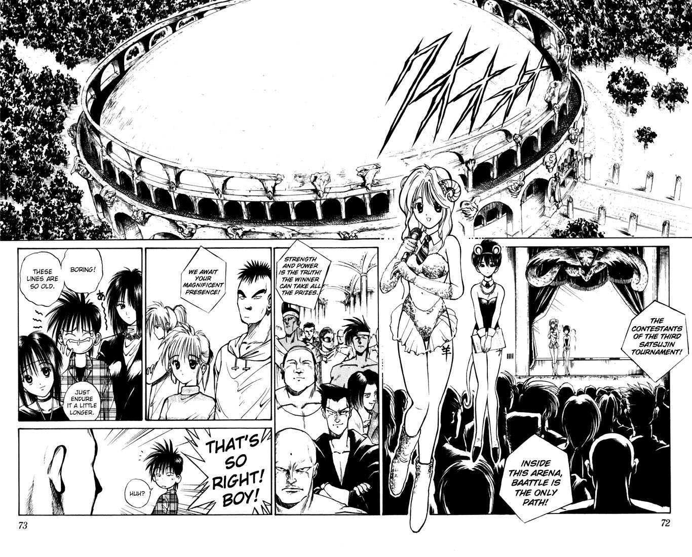Flame of Recca 44 Page 2