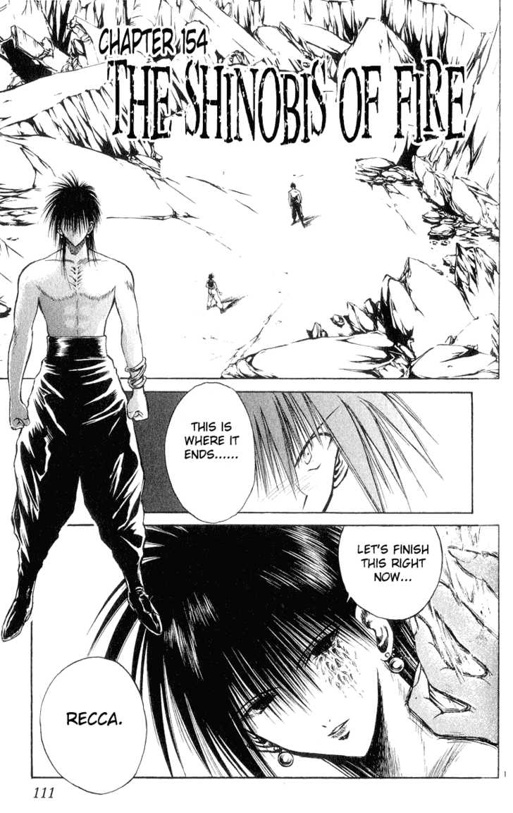 Flame of Recca 154 Page 1