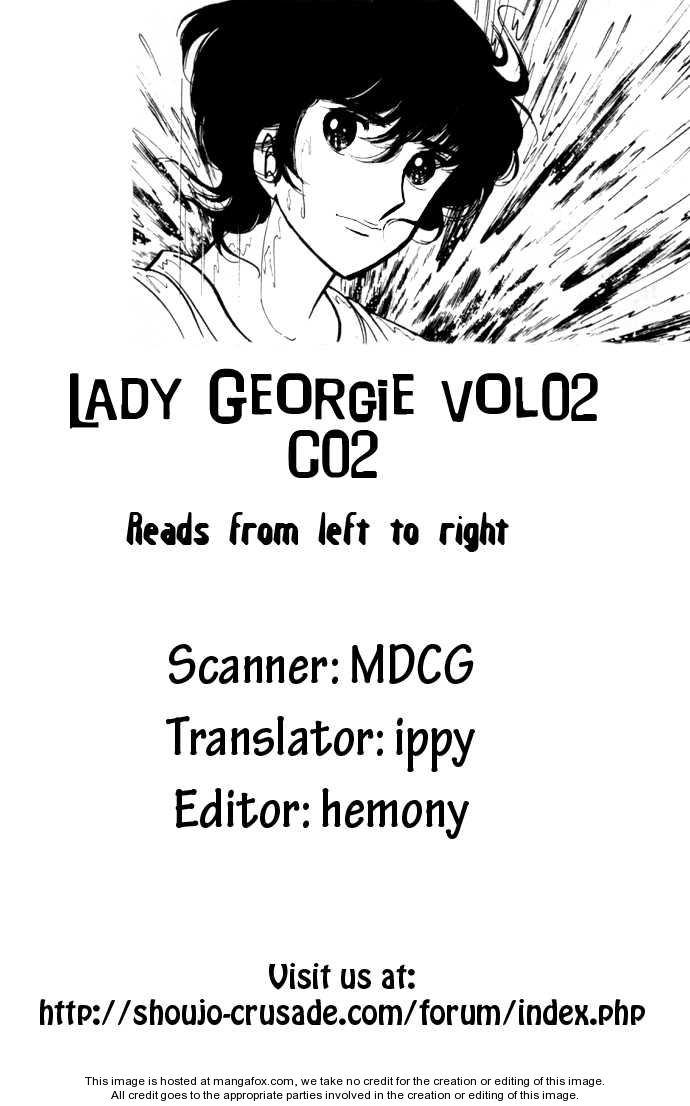 Lady Georgie 2 Page 1