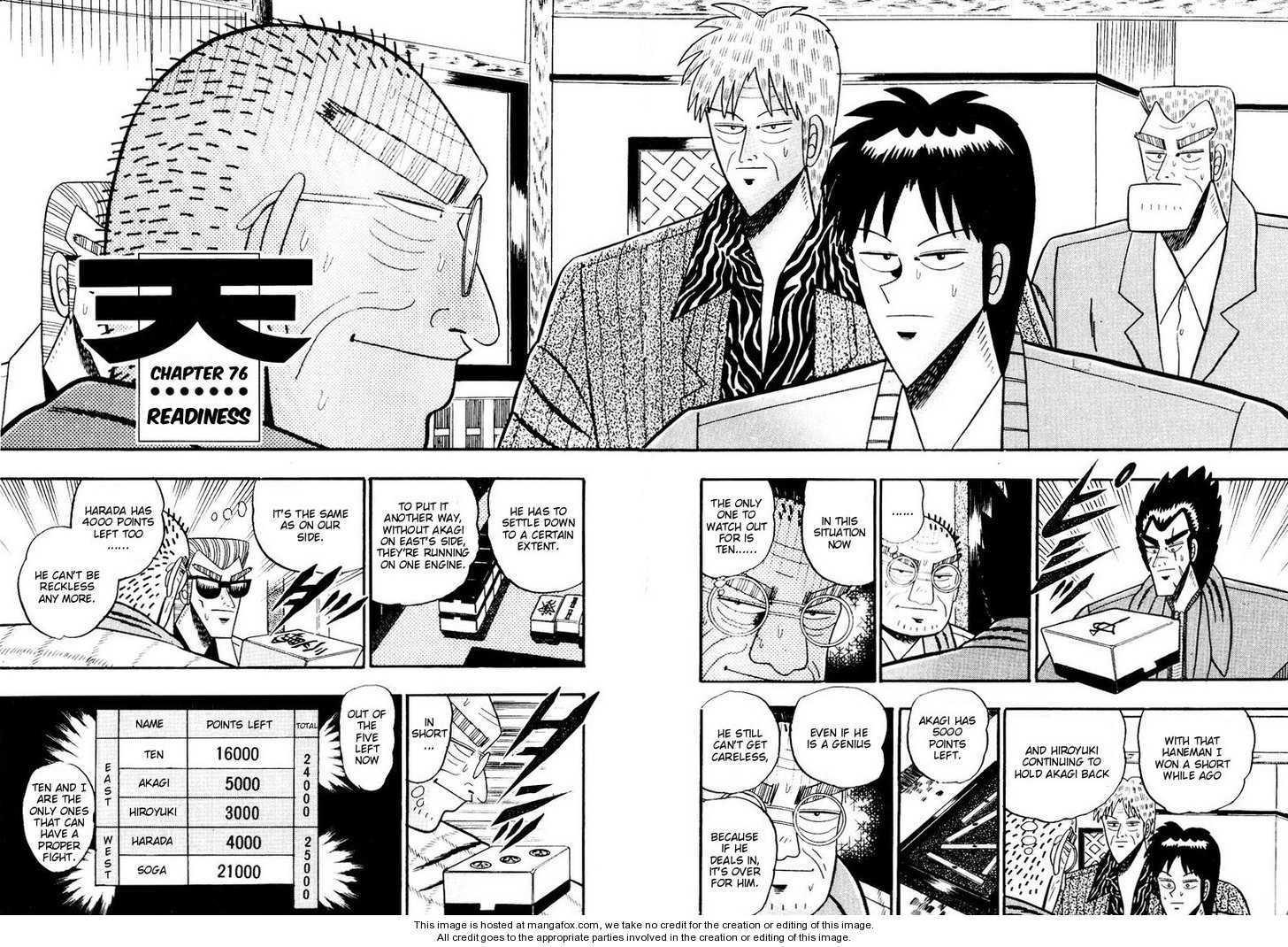 Ten - Tenna Toori no Kaidanji 76 Page 2