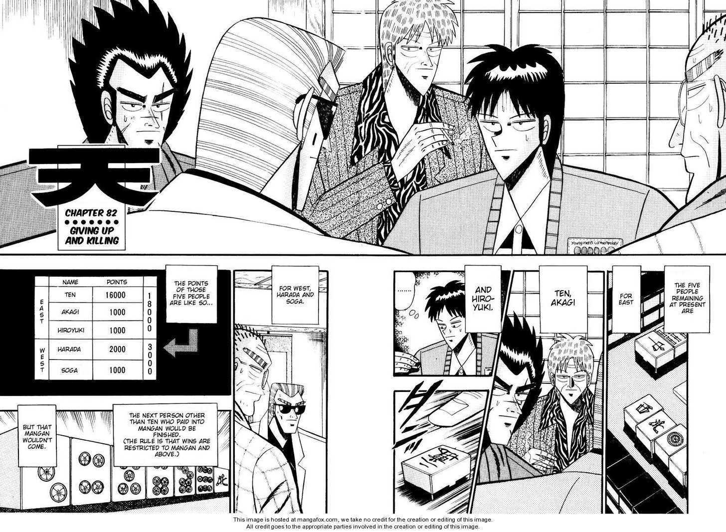 Ten - Tenna Toori no Kaidanji 82 Page 2