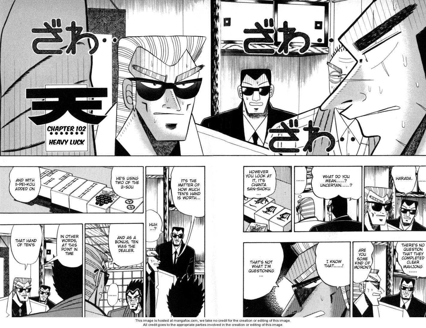 Ten - Tenna Toori no Kaidanji 102 Page 2