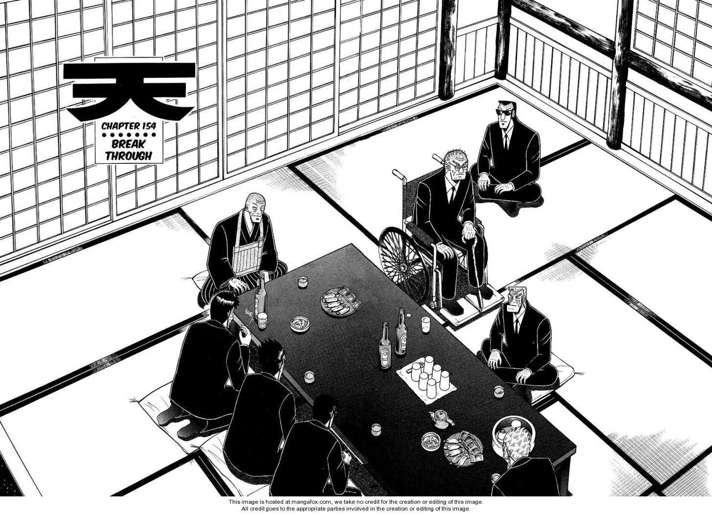 Ten - Tenna Toori no Kaidanji 154 Page 1