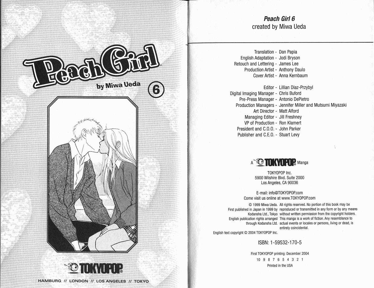 Peach Girl 6 Page 3