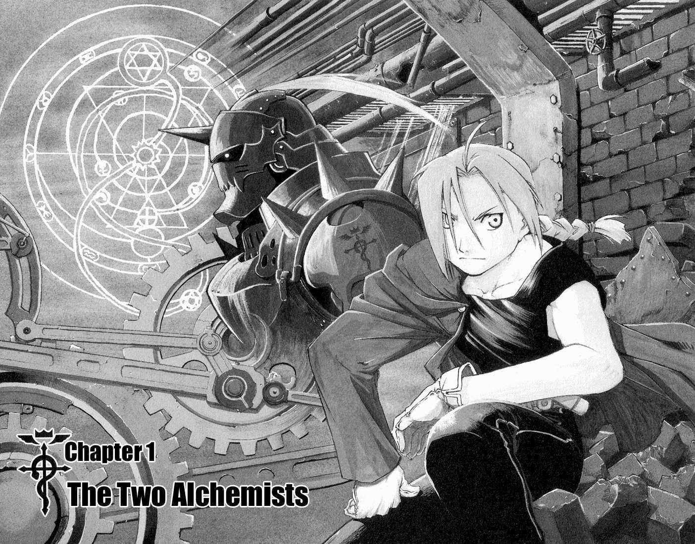Full Metal Alchemist 1 Page 3