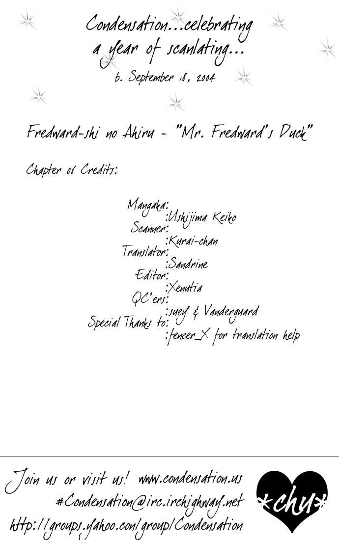 Mr. Fredward's Duck 6 Page 1