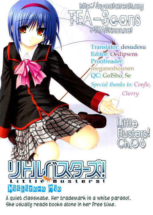 Little Busters! 6 Page 1