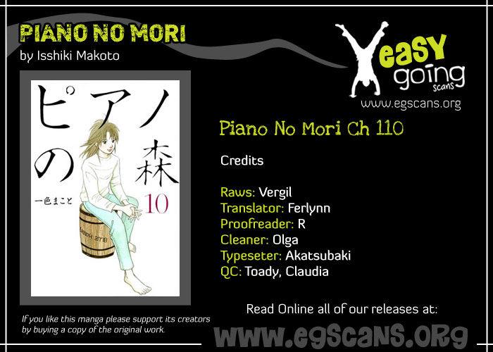 Piano no Mori 110 Page 1