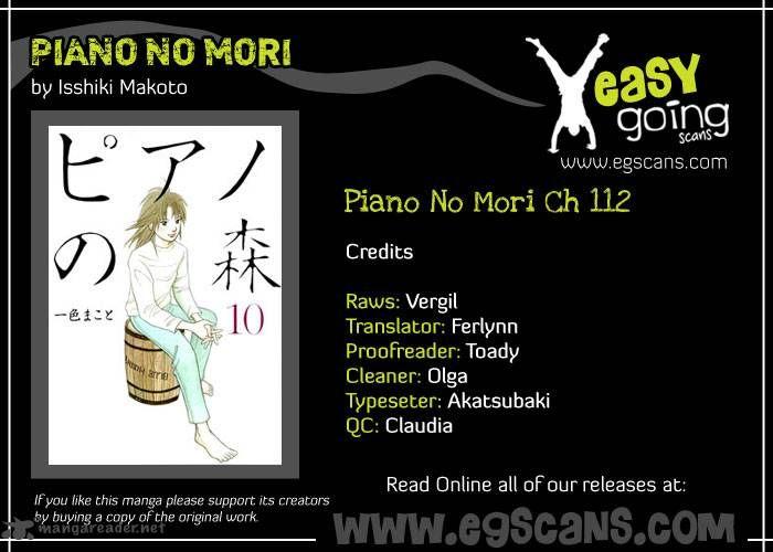 Piano no Mori 112 Page 1