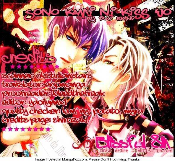 Sono Kami ni Kiss wo 6 Page 2