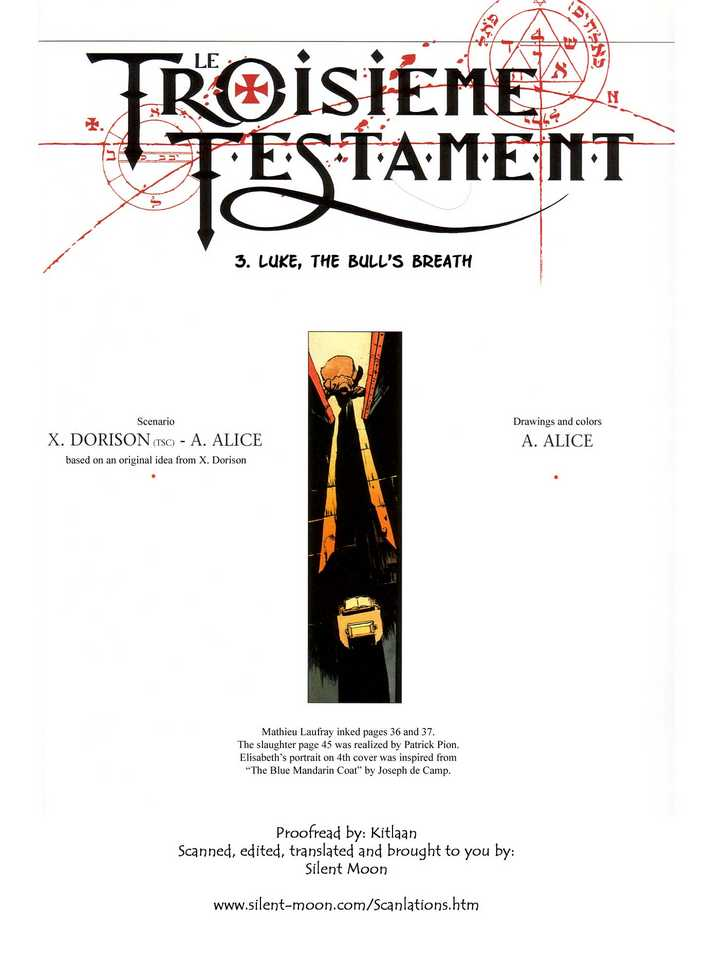 The Third Testament 2 Page 1