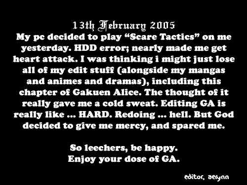 Gakuen Alice 13 Page 1